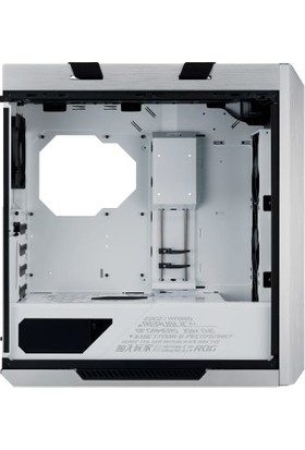 Asus ROG Strix GX601 Helios RGB Fanlı Temperli Cam USB 3.1 ATX/EATX Oyuncu Kasası - Beyaz