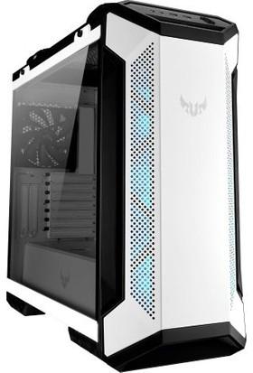 Asus TUF Gaming GT501 RGB Fanlı Temperli Cam USB 3.1 ATX/EATX Oyuncu Kasası - Beyaz