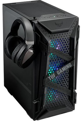 Asus TUF Gaming GT301 Adreslenebilir RGB Fanlı Temperli Cam USB 3.1 ATX Oyuncu Kasası