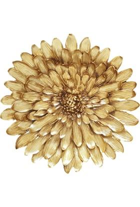 Moda Feneri Gold Yıldız Çiçek Duvar Süsü