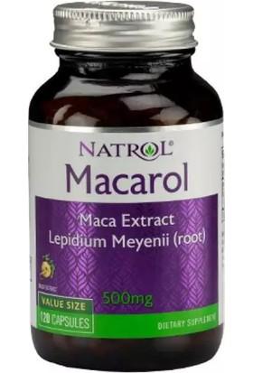 Natrol Macarol 500 Mg. 120 Kapsül