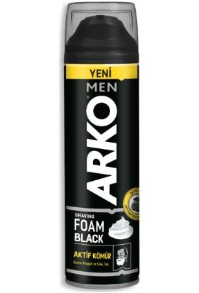 Arko Men Black Aktif Kömür Tıraş Köpüğü 200 ml