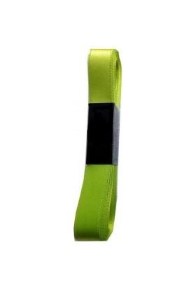 Benim Marifetlerim Fıstık Yeşili Saten Kurdele 1 cm 10 Metre