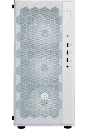 Silverstone Fara R1 Tempered Glass Beyaz ATX Kasa (SST-FAR1W-G)