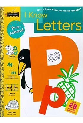 I Know Letters (Preschool) - Susan J. Schneck