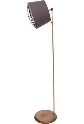 Umur Aydınlatma Monreo Eskitme Füme Şapkalı Lambader