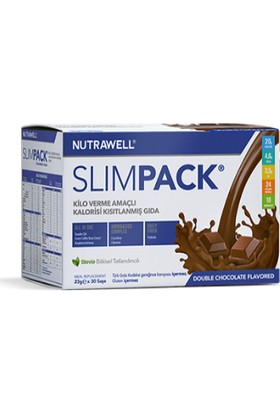 Nutrawell Slimpack Çikolata Aromalı