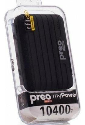 Preo My Power 10400 mAh Powerbank - Siyah