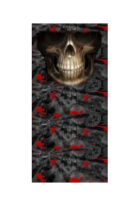 Loco Active Çok Amaçlı Bandana-Skull 014