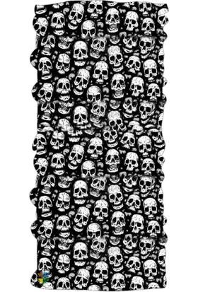 Loco Active Çok Amaçlı Bandana-Skull9