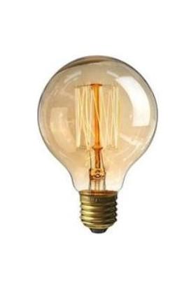 Onetick Classic Brilliance 60W G125 E27 Rustik Günışığı Ampul