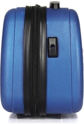 Uk Polo Club Pb1 Makyaj Çantası & El Valizi Mavi