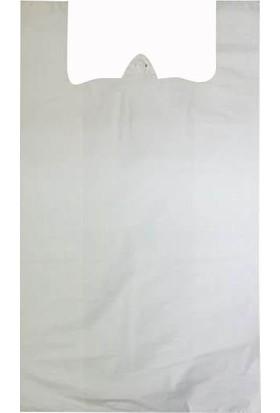 1001 Ambalaj Battal Ara Beyaz Poşet 40 x 70 1 Kilo