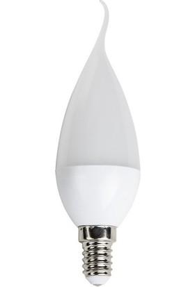 Cata 5'li CT-4077 5W Led Buji Kıvrık Ampul E14 Duy Gün Işığı Rengi