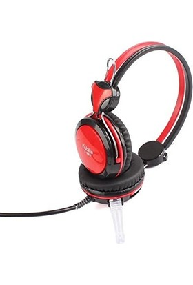 Kubite Pc Bilgisayar Laptop Için Oyun Kulaklığı Stereo Mikrofon-Kulaklık