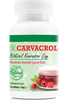 L'actone Carvacrol Bitkisel Konsantre Çay