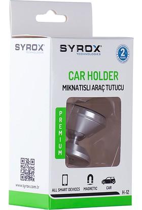 Syrox H12 Mıknatıslı Metal Araç Içi Telefon Tutucu