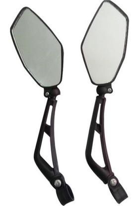 Hsgl Bisiklet Sport Ayna Reflektörlü Çamurluk Set