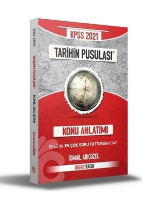 Doğru Tercih Yayınları KPSS 2021 Tarihin Pusulası Konu Anlatımı - İsmail Adıgüzel