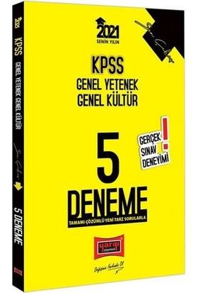 Yargı Yayınları 2021 KPSS Genel Yetenek Genel Kültür Son Çıkış Tamamı Çözümlü 5 Deneme
