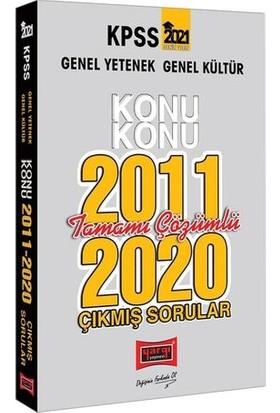Yargı Yayınları 2021 KPSS Genel Yetenek Genel Kültür Konu Konu Tamamı Çözümlü Çıkmış Sorular(2011-2020)