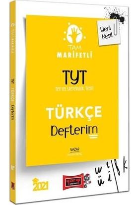 Yargı Yayınları 2021 TYT Tam Marifetli Türkçe Defterim - Engin Genç