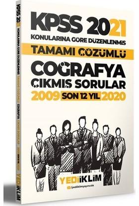 Yediiklim Yayınları 2021 KPSS Genel Kültür Coğrafya Konularına Göre Tamamı Çözümlü Çıkmış Sorular (Son 12 Yıl)
