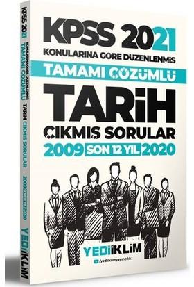 Yediiklim Yayınları 2021 KPSS Genel Kültür Tarih Konularına Göre Tamamı Çözümlü Çıkmış Sorular(Son 12 Yıl)
