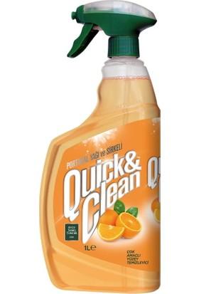 Eyüp Sabri Tuncer Quıck & Clean Çok Amaçlı Yüzey Temizleyici Portakal Yağlı 1 lt