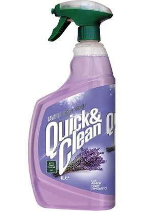 Eyüp Sabri Tuncer Quıck & Clean Çok Amaçlı Yüzey Temizleyici Lavanta Yağlı 1 lt