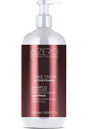 6. Zero Take Over Active Power Shampoo - Dökülen Saçlar Için Şampuan 500 ml