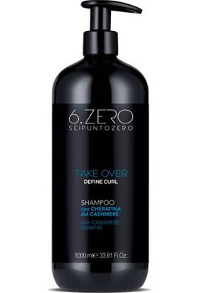 6. Zero Take Over Define Curl Shampoo - Dalgalı ve Kıvırcık Saçlar Için Şampuan 1000 ml