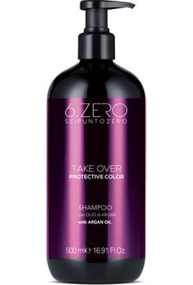 6. Zero Take Over Protective Color Shampoo - Boyalı Saçlar Için Şampuan 500 ml