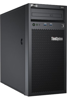 """Lenovo Server 7Y48A02DEA ThinkSystem ST50 Intel Xeon E-2126G 6C 3.3GHz 1X16GB UDIMM 2x2TB SATA 3.5in NO DVD-RW 250W Mini Tower """