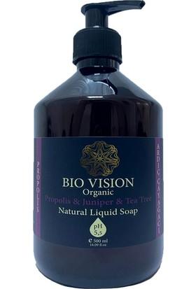 Bio Vision Organik Propolis & Ardıç & Çay Ağacı Sıvı El Sabunu