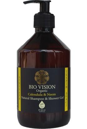 Bio Vision Organik Aynısafa & Tespih Ağacı Şampuan & Duş Jeli 500 ml
