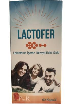 Lactofer Laktoferrin Içeren Takviye Edici Gıda 60 Kapsül