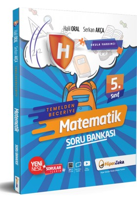 Hiper Zeka Yayınları 5.sınıf Hiper Matematik Temelden Beceriye Soru Bankası