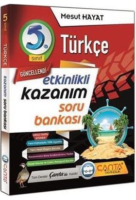Çanta Yayınları 5. Sınıf Kazanım Türkçe Soru Bankası