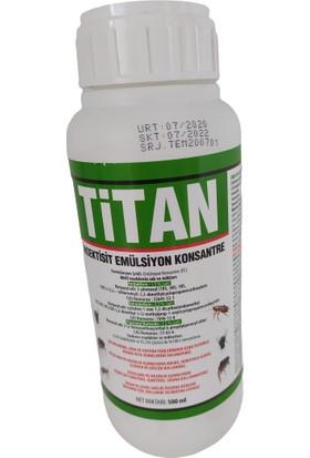 Titan Haşere Hamam Böceği Karınca Kene Mücadelesinde Etkili 500 ml