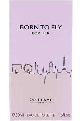 Oriflame Born To Fly For Her Edt 50 ml Kadın Parfümü