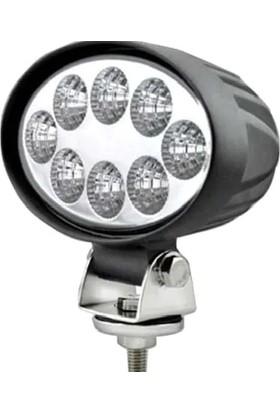 Norma Oval Çalışma Lambası Beyaz Işık 24 W 8 LED