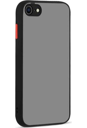 Vendas Apple iPhone Se 2020 Mara Serisi Premium Silikon Kılıf Siyah