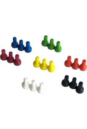 Hdg 7 Farklı Renk Pano Mıknatısı 30'lu