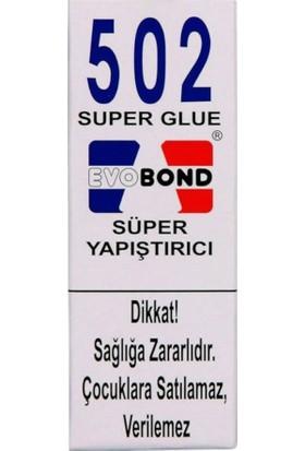 Evobond 502 Süper Japon Yapıştırıcı 20 gr