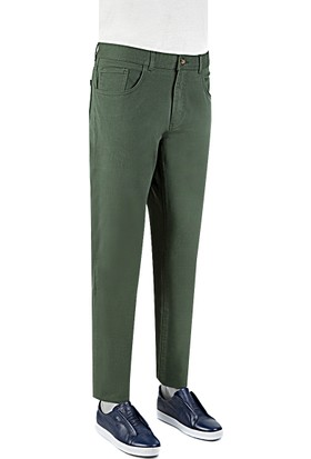 Tween Erkek Yeşil Chino Pantolon