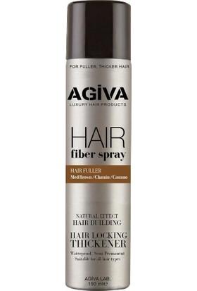 Agiva Dolgunlaştırıcı Hair Fiber Spray Kahverengi 150ML x 2