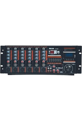 Dexun D-2400 400W 100V 4-16 Ohm Cami Amfisi
