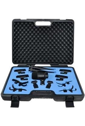 Av-Jefe Pmm-B1 7 Parça Davul Mikrofon Seti