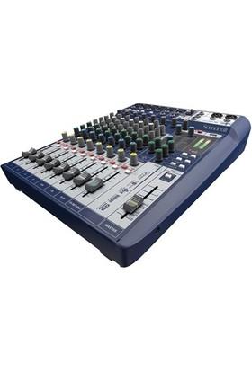 Soundcraft Signature 10 Efektli, 10 Kanal Deck Mikser